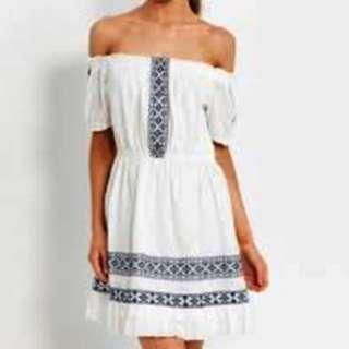 NEW Dotti Odelia Shoulder Dress Size 8