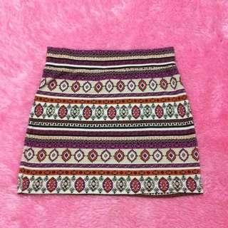 Aztec Pencil Skirt