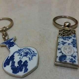 Gantungan Kunci Keramik China