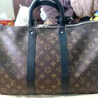 071b91869043 Authentic Louis Vuitton (LV) Keepall 45 Monogram Macassar