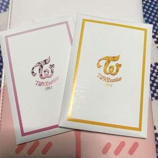 [Instock] Twice Lane 2 PO Benefit Photocard set
