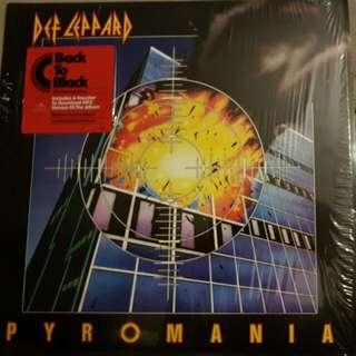 Def LEPPARD  - PYROMANIA LP