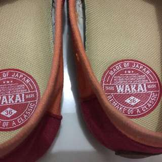 Preloved Sepatu Wakai ORIGINAL 100%