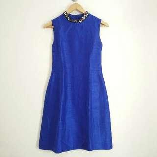 MINIMAL Blue Dress