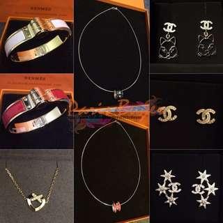 Necklace & Earrings & Bracelet 飾品系列:
