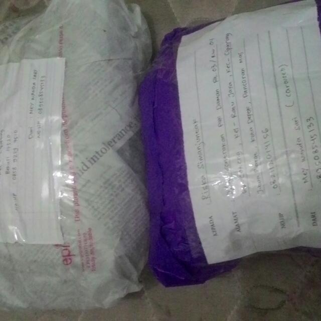 2 Paket Meluncur