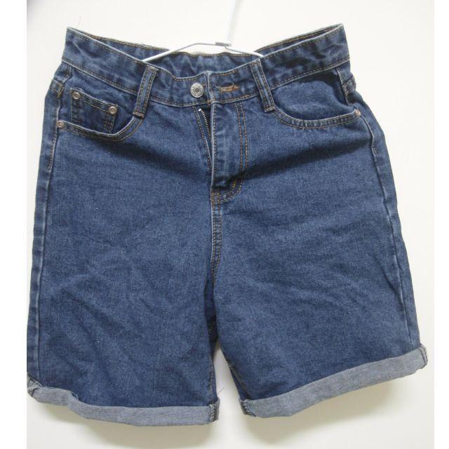 女生版 牛仔五分褲