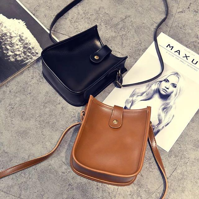韓版復古學院小方包單肩斜挎包迷你手機包斜跨零錢包女竪款小包