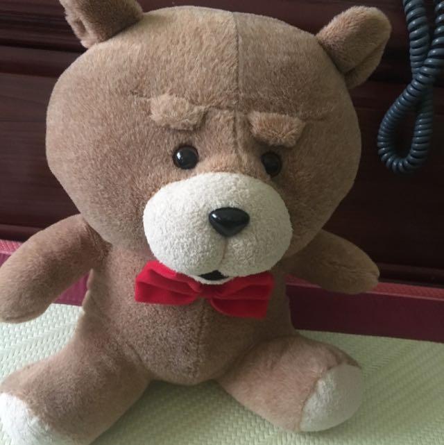 麻吉熊玩偶