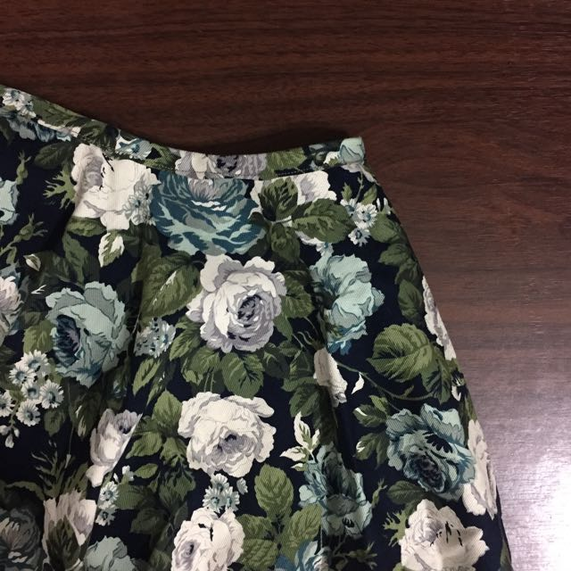自製花圓裙