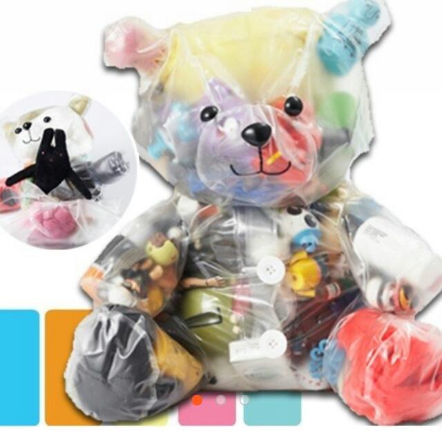 全新 泰迪熊玩具收納袋