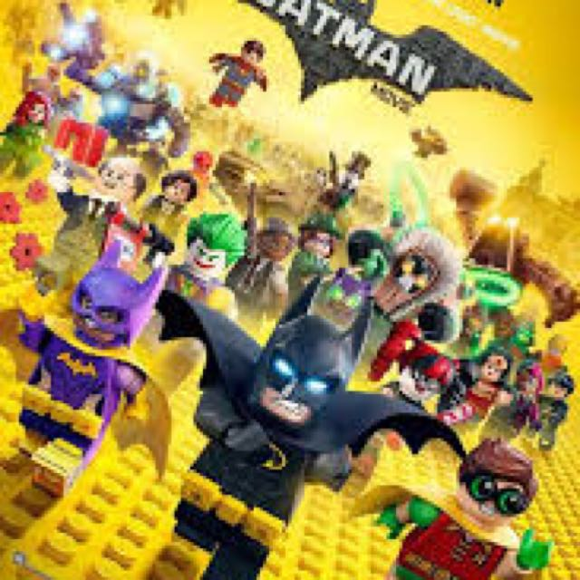 徴 Lego movie Batman UA 票尾