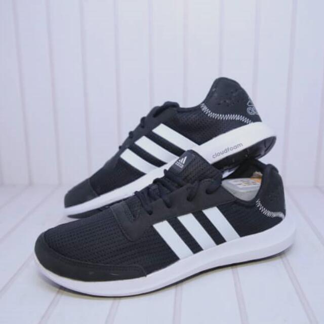 Adidas Cloudfoam Core Black White