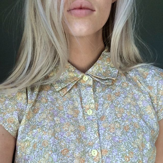 Afends Indi button up tee