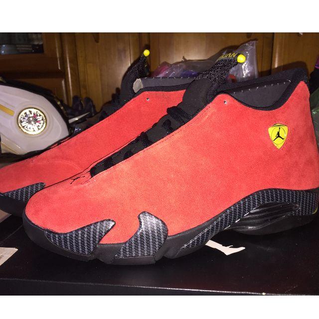 Air Jordan 14 XIV Retro Ferrari 法拉利 US11
