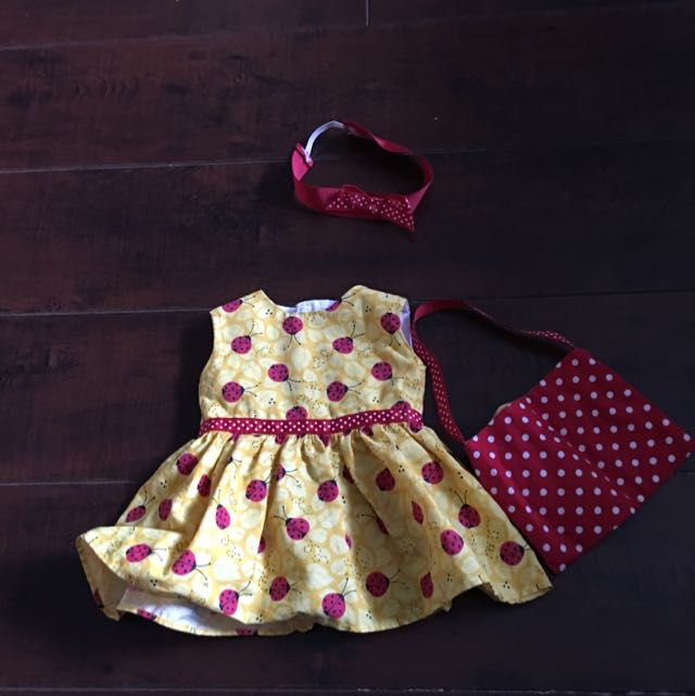 American Girl Doll Ladybug Outfit