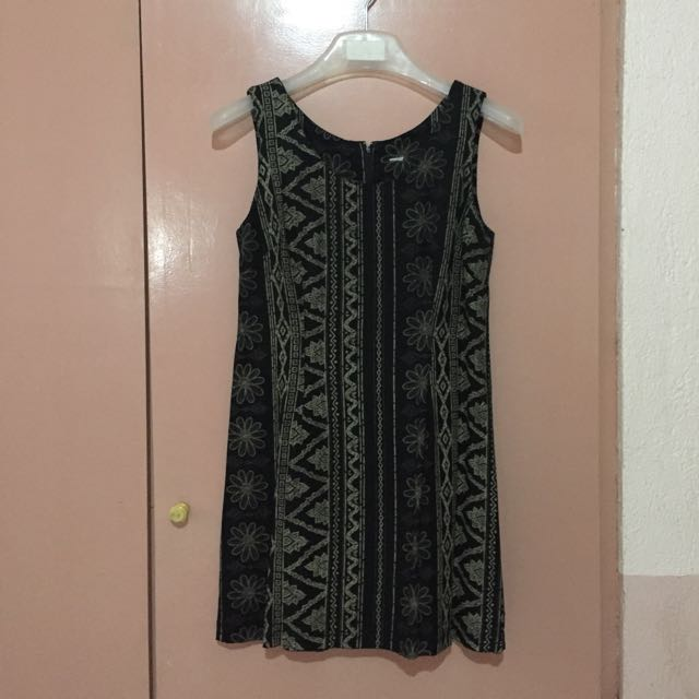 Aztec Sleeveless Dress