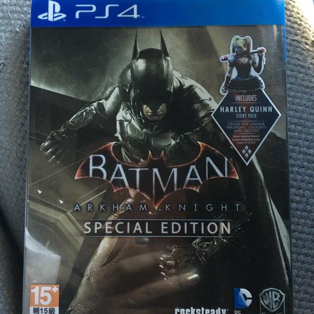 BATMAN Arkham Knight (SPECIAL EDITION)