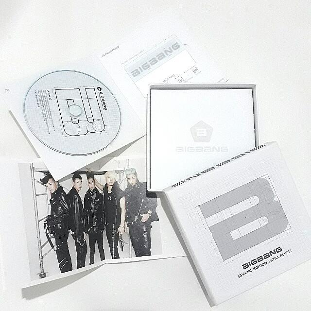 BIGBANG 5th ALBUM STILL ALIVE (special Edition)
