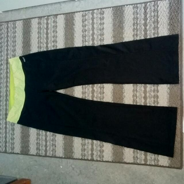 Black Athletica Brand Yoga Pants