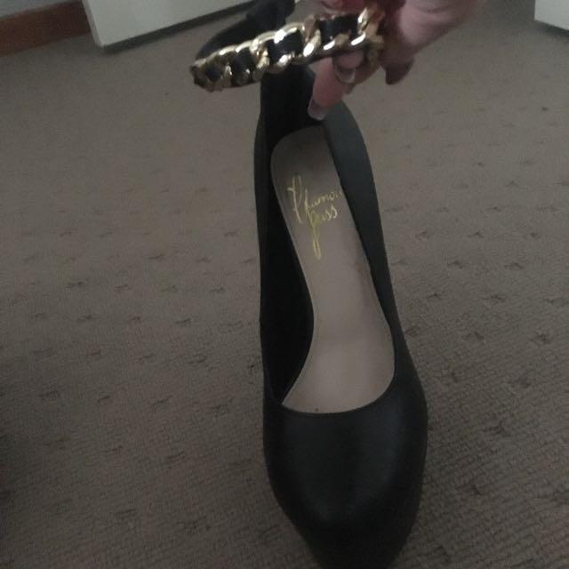 PRICE DROP Black Heels