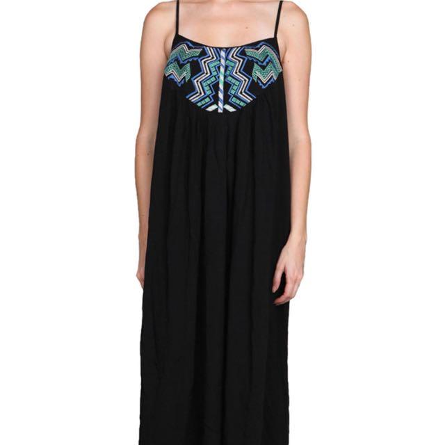 Black Maxi Dress Size Sm/md