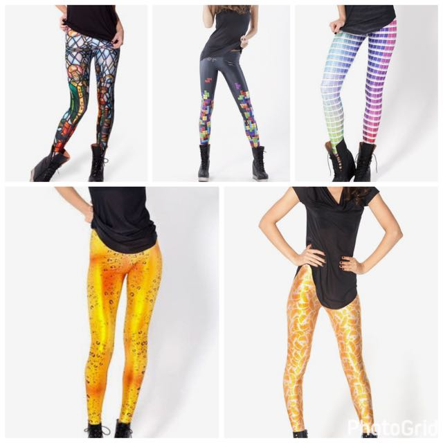 Black Milk Large Leggings