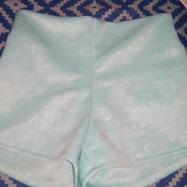Blue Floral Short..