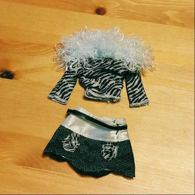 Blythe 碧麗絲 娃衣~搖滾系豹紋套裝