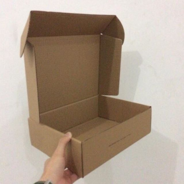 BOX KARDUS POLOS 32x23x9 cm