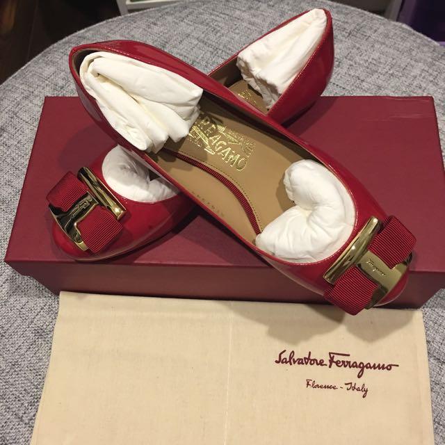 Brand New Authentic Ferragamo Ballet Shoes