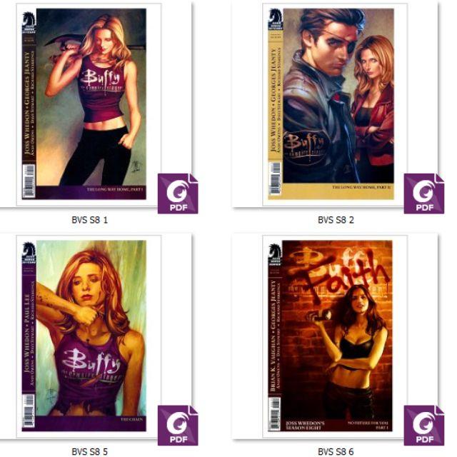 Buffy the Vampire Slayer Digital Collection comics books