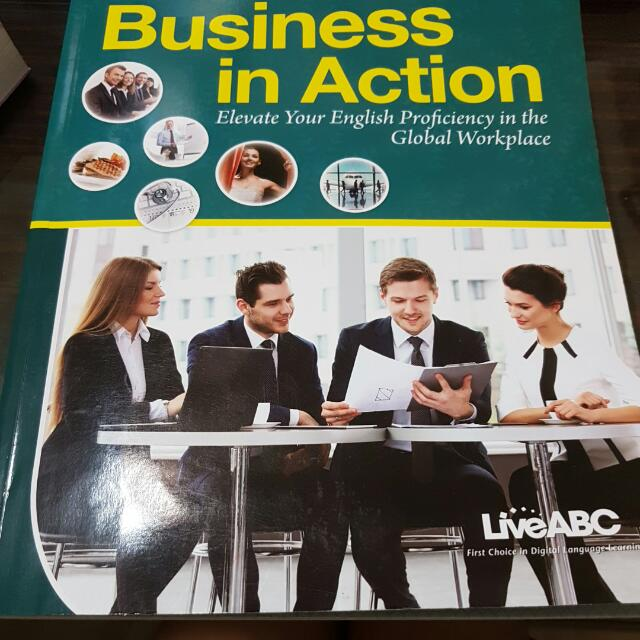 Business in Action 英文課本