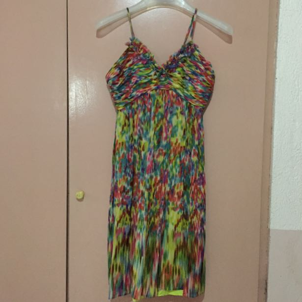 Casual Colorful Dress