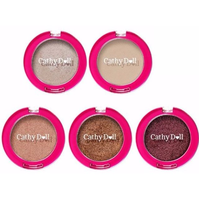 Cathy Doll 8.2 Seconds Fall In Love Eyeshadow 2g Set #1 - #5