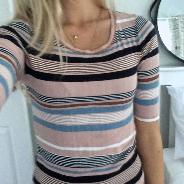 Country Road Striped Tee