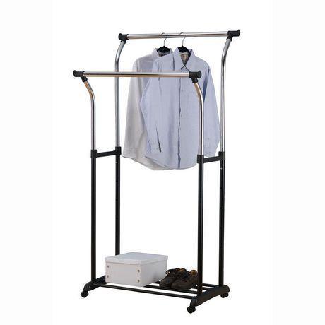 Double Rod Garment Rack