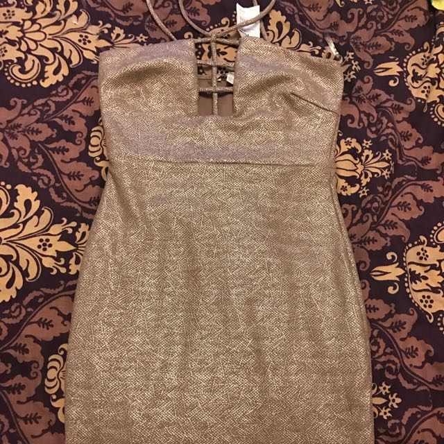 Dress Golden Tags Attached Xs