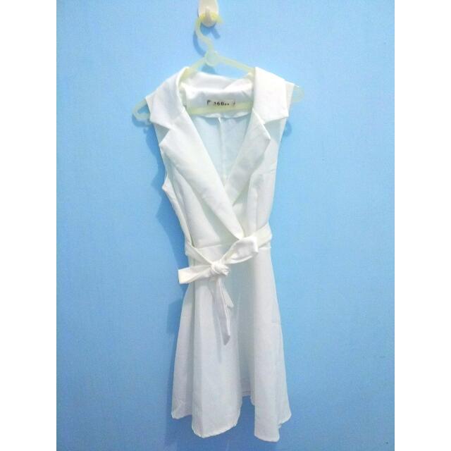 Dress putih Baju Putih