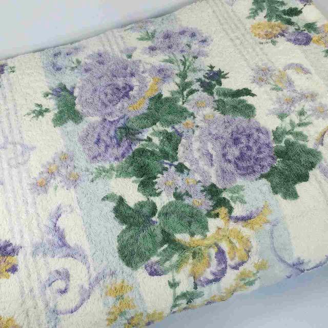 Floral Towel Blanket