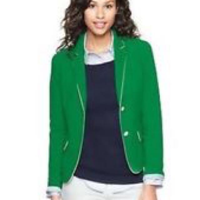 Gap Green Blazer Size 6
