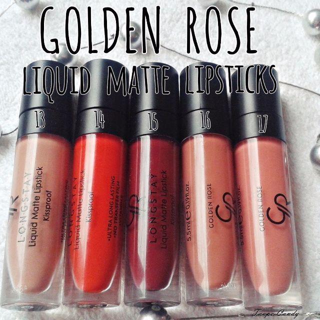 Golden Rose Liquid Matte Lipstick Health Beauty Makeup On Carousell