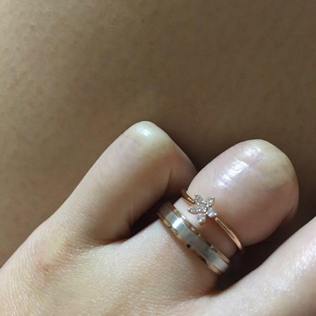Goldheart Celestial - Rose Gold Diamond Ring