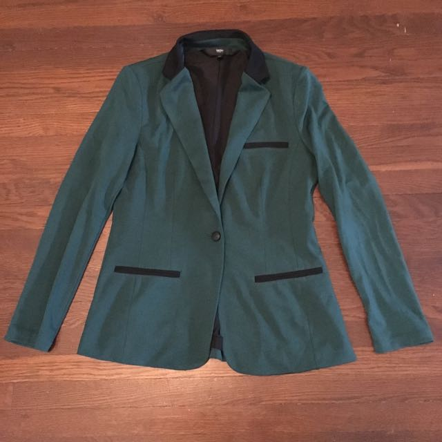 Green Blazer From Target