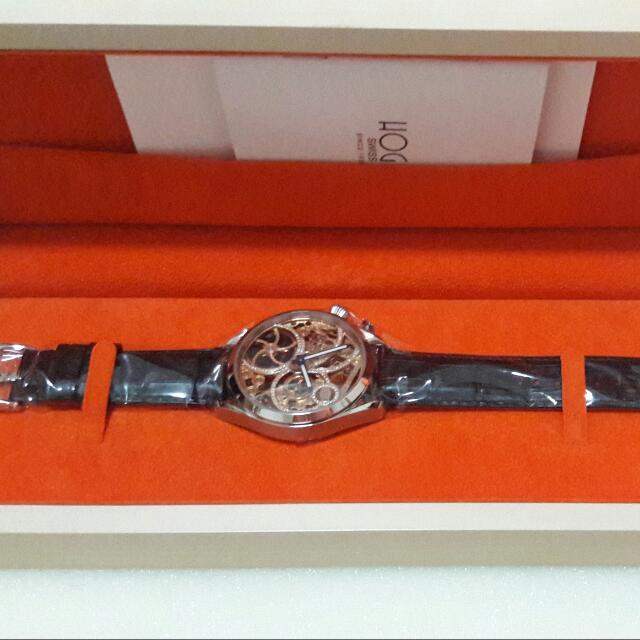 Hoga 瑞士八日鍊收藏級手上鍊機械錶(缺錢賠售)