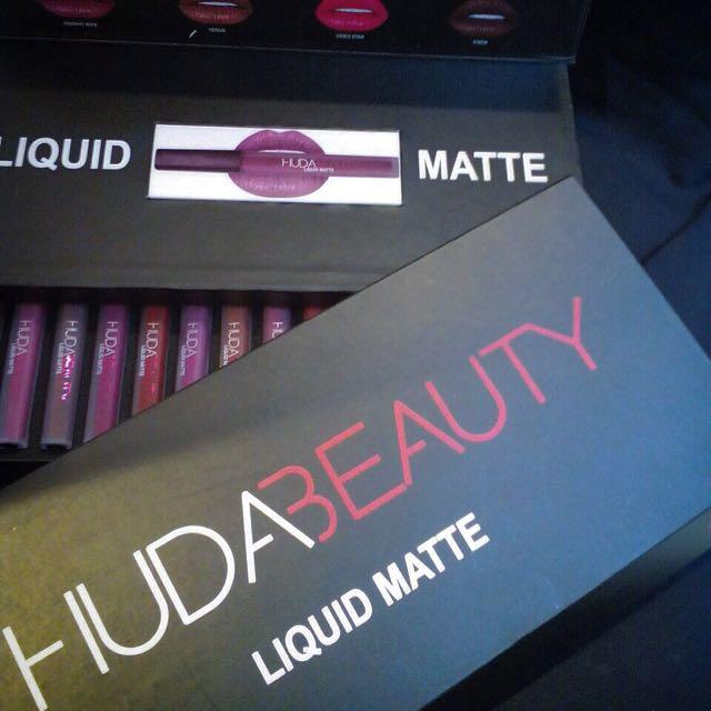 Huda Beauty Lipgloss Collection