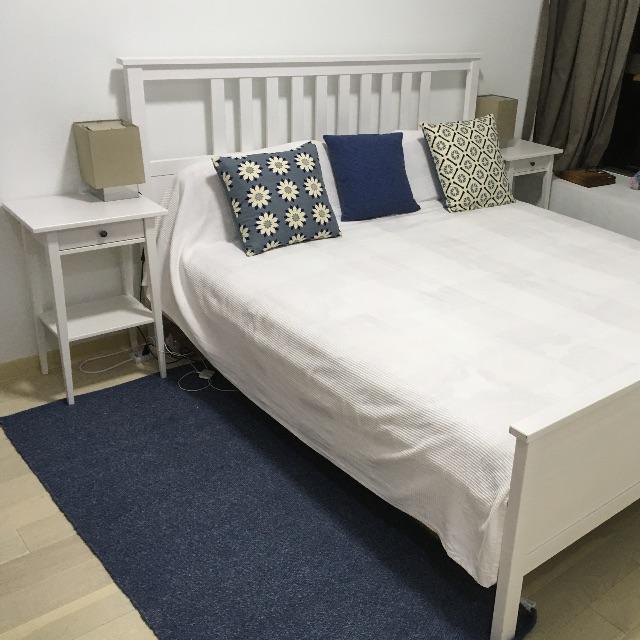 Ikea Hemnes Bed Set 180x200 Furniture Beds Mattresses On
