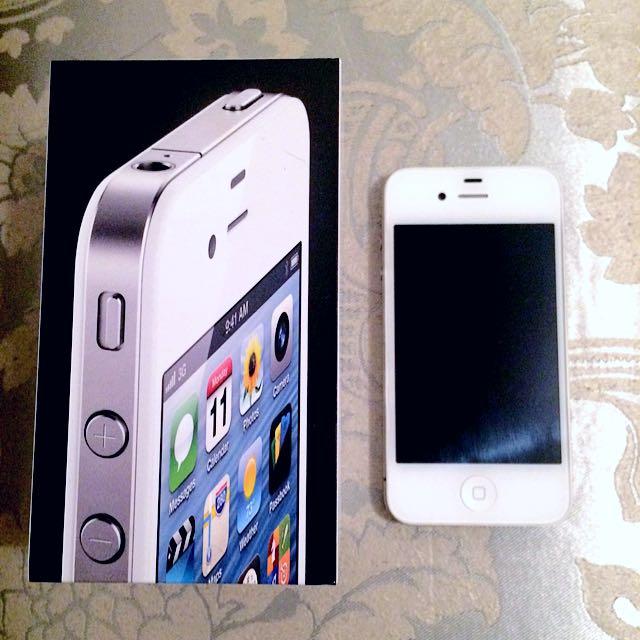White iPhone 4 8GB