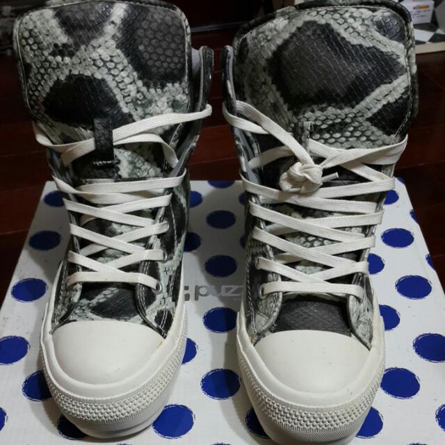 I.T副牌 Puzzle蛇紋靴