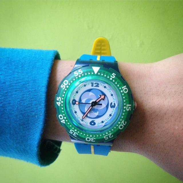 Jam Tangan Swatch Scuba 200 Original 100%